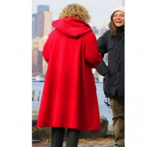 Julia Garner Modern Love Coat with Hood