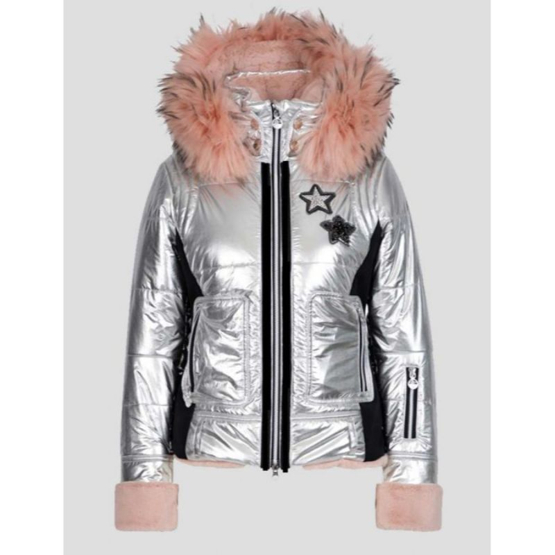 Spinning Out Sarah Wright Puffer Jacket