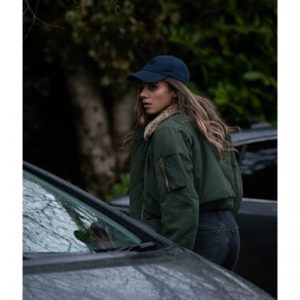 Hannah John-Kamen The Stranger Satin Jacket