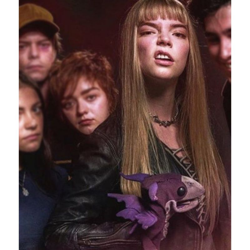 The New Mutants Magik Black Leather Jacket