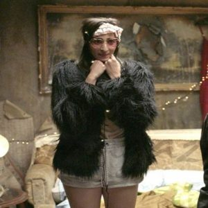 Money Heist Nairobi Fur Jacket