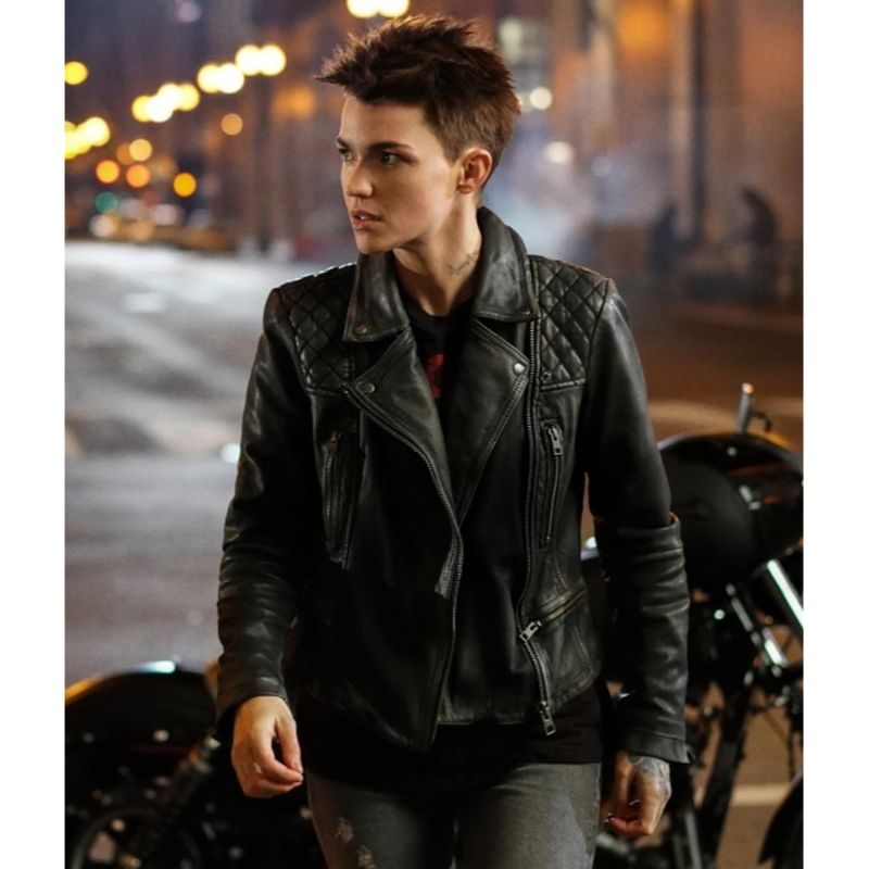 Katherine Kane Batwoman Leather Jacket