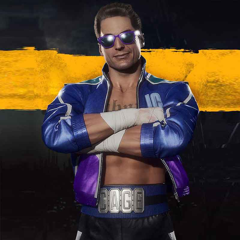 Johnny Cage Mortal Kombat 11 Jacket