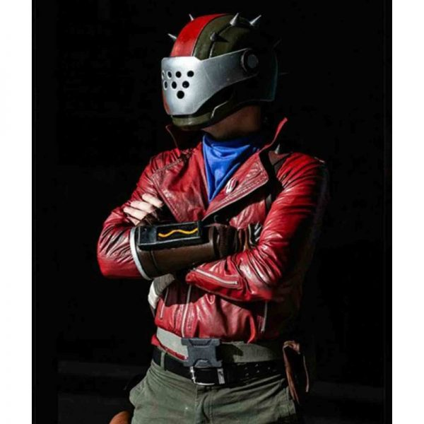 Rust Lord Leather Jacket