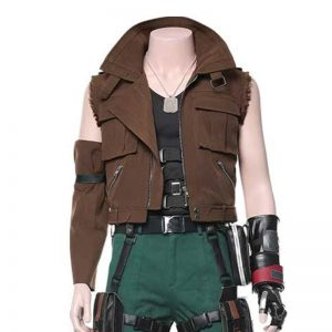 Final Fantasy VII Remake Barret Wallace Vest