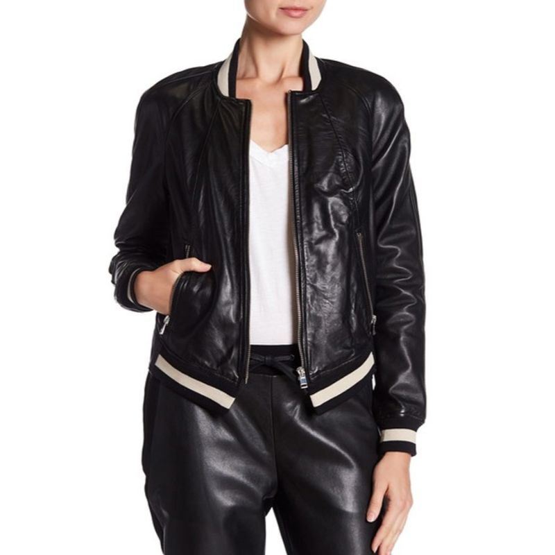 Dare Me Colette French Leather Jacket