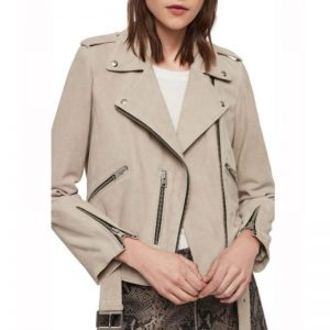 Spinning Out Kat Baker Biker Jacket