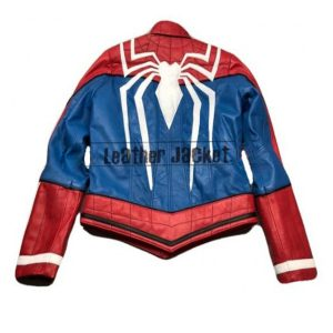 Spider Man PS4 Gaming Leather Jacket