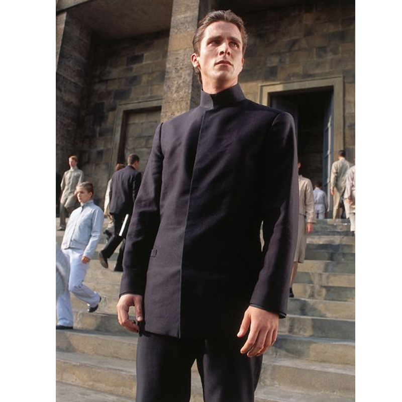 Cleric John Preston Equilibrium Black Suit