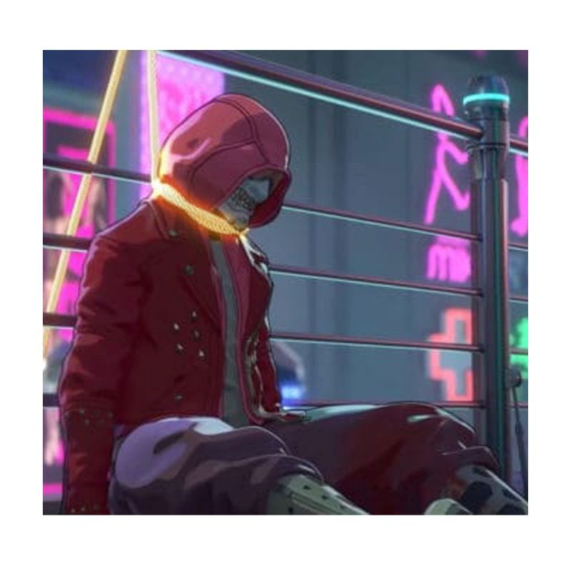 Altered Carbon: Resleeved Red Jacket With Hood