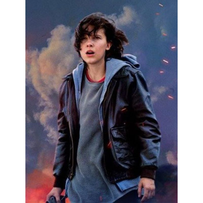 Godzilla King of the Monsters Millie Bobby Jacket