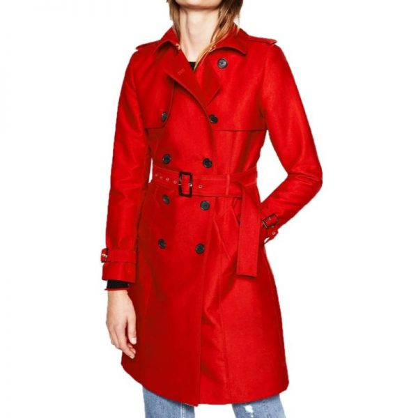 Riverdale Polly Cooper Double Breasted Coat
